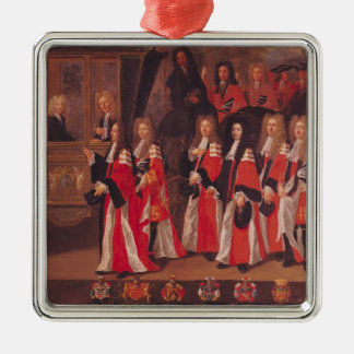 The Entry of Louis of France Christmas Ornament