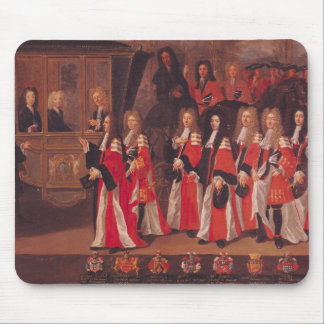 The Entry of Louis of France Mouse Pad