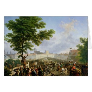 The Entry of Napoleon Bonaparte Card