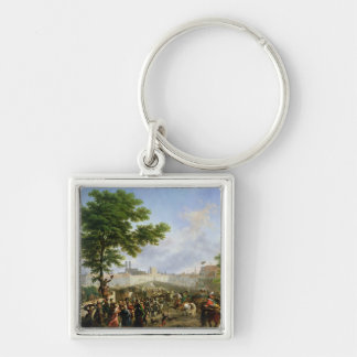 The Entry of Napoleon Bonaparte Key Ring