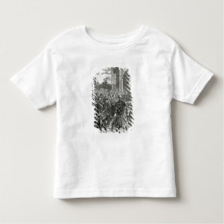 The entry of Napoleon III and Victor Emmanuel Toddler T-Shirt