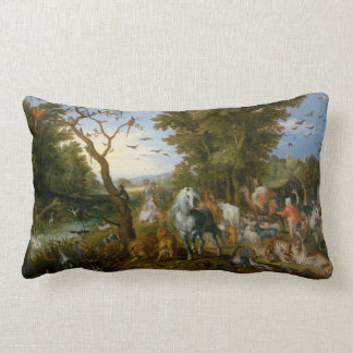 The Entry of the Animals into Noah's Ark 1613 Throw Cushion