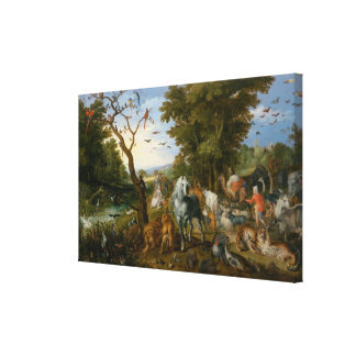 The Entry of the Animals into Noah's Ark Canvas Print