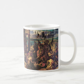 The Entry of the Crusaders into Constantinople Basic White Mug