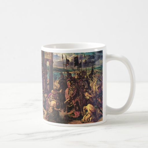 The Entry of the Crusaders into Constantinople Mug