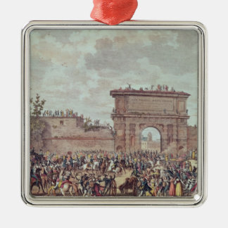 The Entry of the French into Milan Christmas Ornament
