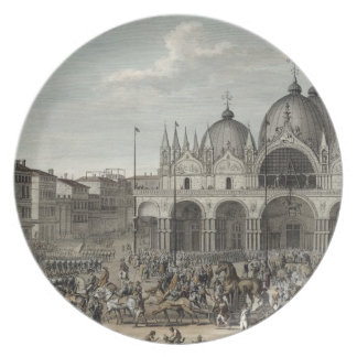 The entry of the French into Venice and the theft Plate