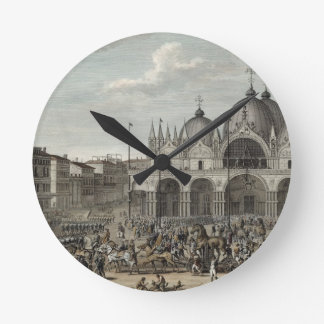 The entry of the French into Venice and the theft Round Clock