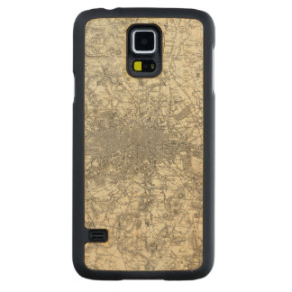 The Environs Of London Carved Maple Galaxy S5 Case