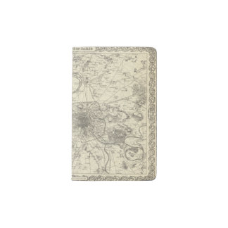 The Environs Of Paris Pocket Moleskine Notebook