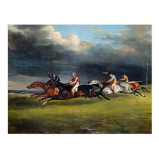 The Epsom Derby, 1821 Postcard