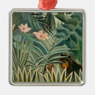 The Equatorial Jungle, 1909 (oil on canvas) Christmas Ornament