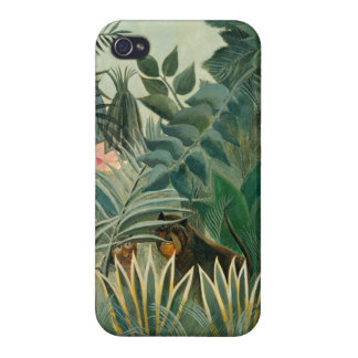 The Equatorial Jungle, 1909 (oil on canvas) iPhone 4 Cases