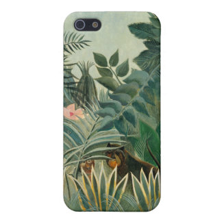 The Equatorial Jungle, 1909 (oil on canvas) iPhone 5/5S Case