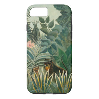 The Equatorial Jungle, 1909 (oil on canvas) iPhone 7 Case