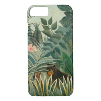 The Equatorial Jungle, 1909 (oil on canvas) iPhone 8/7 Case