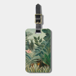 The Equatorial Jungle, 1909 (oil on canvas) Luggage Tag