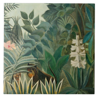 The Equatorial Jungle, 1909 (oil on canvas) Tile