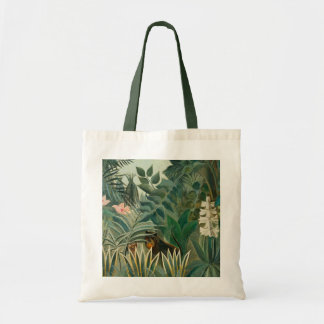 The Equatorial Jungle, 1909 (oil on canvas) Tote Bag