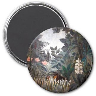 The Equatorial Jungle 7.5 Cm Round Magnet