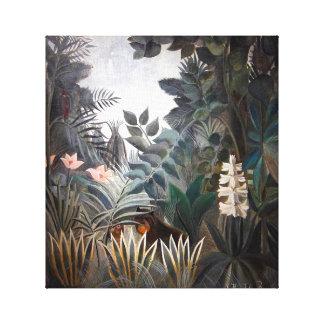 The Equatorial Jungle Canvas Print