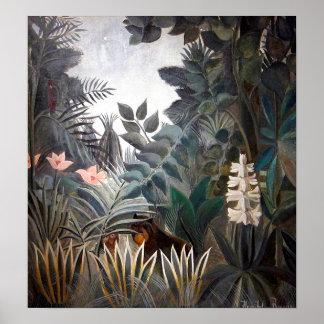 The Equatorial Jungle Poster
