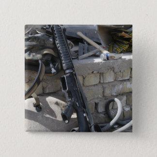 The equipment of a Marine 15 Cm Square Badge