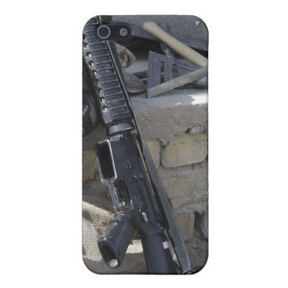 The equipment of a Marine iPhone 5/5S Cases