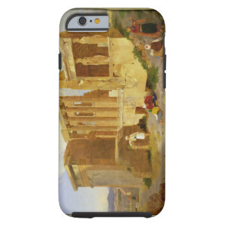 The Erechtheum, Athens, with Figures in the Foregr Tough iPhone 6 Case