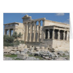 The Erecthion - most sacred site in ancient Greece Cards