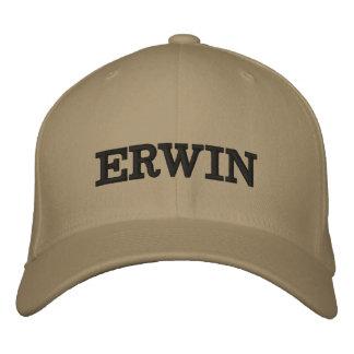 The Erwin Embroidered Embroidered Hat