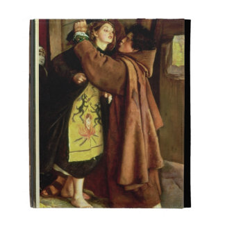 The Escape of a Heretic, 1559, 1857 (oil on canvas iPad Folio Case