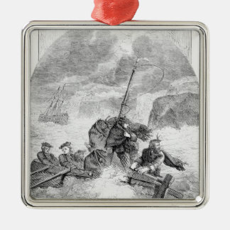 The Escape of the Young Pretender Christmas Ornament