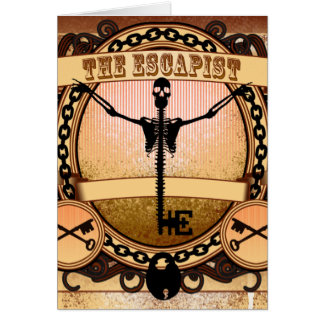 The Escapist Full Greeting Card