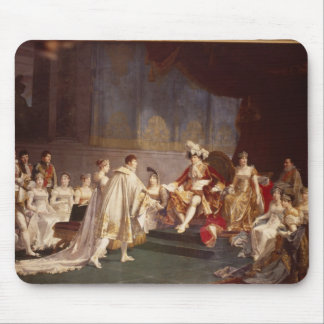 The espousal of Prince Jerome Bonaparte Mouse Pads