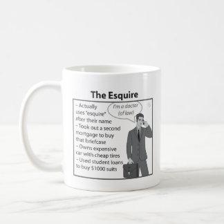 The Esquire Coffee Mug