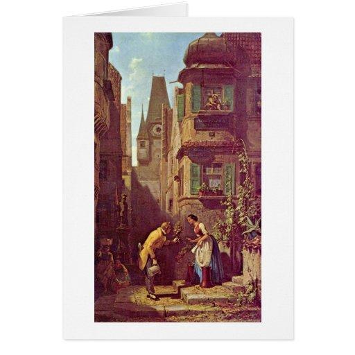 The Eternal Bridegroom By Carl Spitzweg Card
