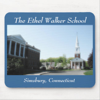 The Ethel Walker School Mouse Mat