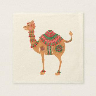The Ethnic Camel Disposable Serviettes