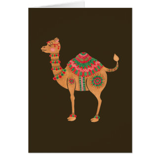 The Ethnic Camel Greeting Card