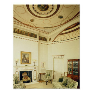 The Etruscan Room designed by Robert Adam Posters