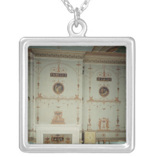 The Etruscan Room, Osterley Park, Middlesex Silver Plated Necklace