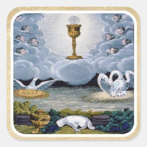 The Eucharist Stickers
