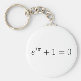 The Euler formula Key Ring