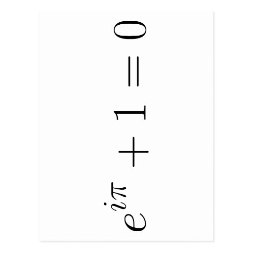 The Euler formula Post Cards