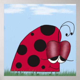 The Euphoric Ladybug Print