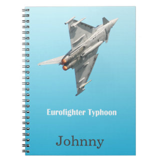 The Eurofighter Typhoon personalised Notebook