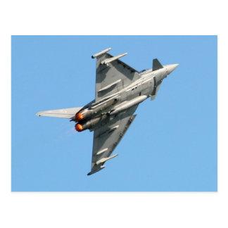 The Eurofighter Typhoon Post Card