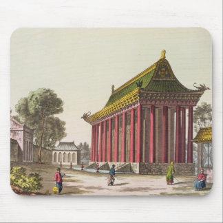 The 'European Palace' at Yuen-Ming-Yuan, illustrat Mouse Mat