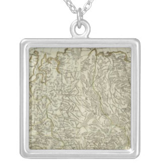 The European part of the Russian Empire Silver Plated Necklace